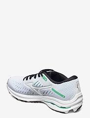 Mizuno - Wave Rider 24(W) - running shoes - white/white/jadecream - 2