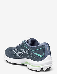 Mizuno - WAVE RIDER 25(W) - running shoes - pearl blue - 2