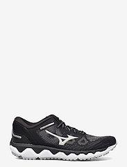 Mizuno - WAVE HORIZON 5(W) - running shoes - black/lunarrock/white - 0
