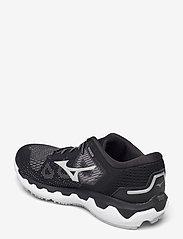 Mizuno - WAVE HORIZON 5(W) - running shoes - black/lunarrock/white - 2