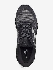 Mizuno - WAVE HORIZON 5(W) - running shoes - black/lunarrock/white - 3