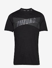 Mizuno - Core Graphic Tee - t-shirts - black - 0