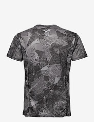 Mizuno - Aero Tee(M) - t-shirts - black - 1