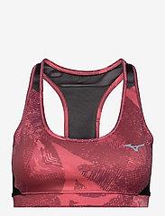 Mizuno - Alpha Graphic Bra(W) - sport bras: medium - tea rose - 0