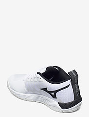 Mizuno - WAVE SUPERSONIC 2(U) - inomhusskor - white / black - 2