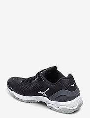 Mizuno - WAVE STEALTH V - inomhusskor - black / white / ebony - 2