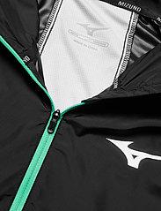 Mizuno - Hoody Jacket(M) - sportsjakker - black - 2