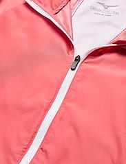 Mizuno - Hoody Jacket(W) - koulutustakit - tea rose - 2