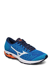 WAVE KNIT R2 (M) - NBLUE/WHITE/REDORANGE