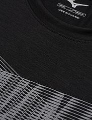 Mizuno - Core Graphic Tee - t-shirts - black - 2