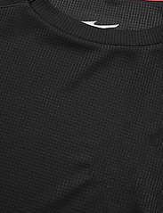 Mizuno - DryAeroFlow Tee(M) - t-shirts - black - 2