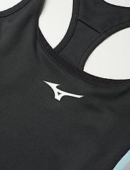 Mizuno - Amplify Printed Dress - vardagsklänningar - black - 2