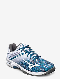 WAVE EXCEED TOUR 4 AC - tennis shoes - white / blue sapphire / quiet shade