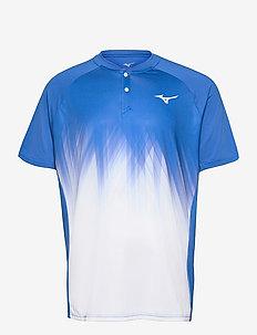Shadow Polo(M) - sports tops - nebulas blue/white
