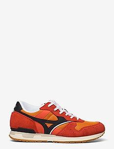 Mizuno GV 87(U) - lave sneakers - orangepeel/blk/pristine