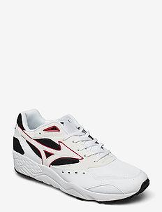 Contender(U) - lage sneakers - black/white/fieryred
