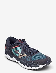 WAVE HORIZON 5(M) - running shoes - indiai/platinumg/mykonos