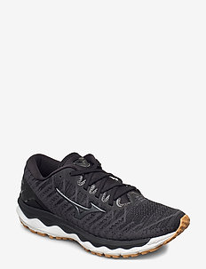 WAVE SKY 4 WAVEKNIT W - loopschoenen - black /dark shadow/biscuit