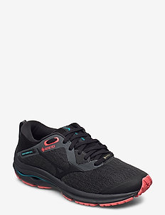 WAVE RIDER GTX 2 W - laufschuhe - dark shadow/black /fiery coral