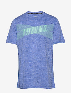 Core Graphic Tee - sports tops - dazzling blue