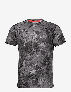 Aero Tee(M) - sports tops - black