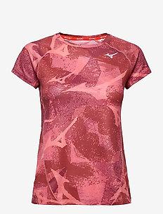 Aero Tee(W) - t-shirts - tea rose