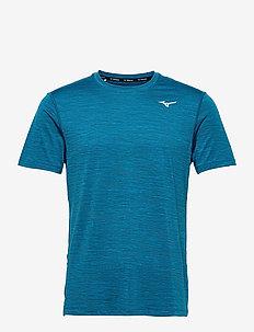 Impulse Core Tee(M) - sportstopper - mykonos blue