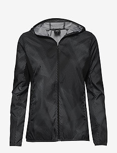 Hoodie Jacket W - training jackets - black