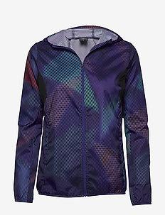 Hoodie Jacket W - sportjacken - dazzling blue