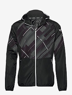 Printed Jacket - veste sport - mazarine blue