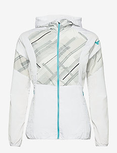 Printed Jacket - sportjackor - white