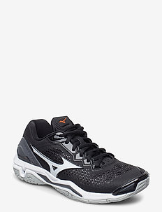 WAVE STEALTH V - training schoenen - black / white / ebony