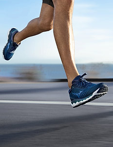 WAVE SKY 3 - running shoes - navy
