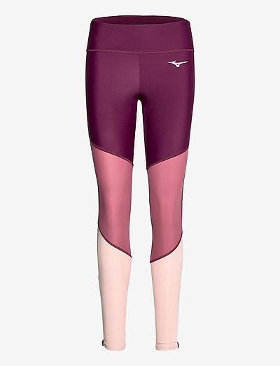 Core Long Tight(W) - running & training tights - renaissance rose