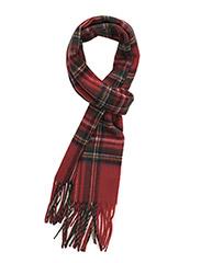 MJM Scarf Torino 100 % Lambswool Red Tartan - RED TARTAN