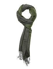 MJM Scarf Classico Wool Mix Green - GREEN