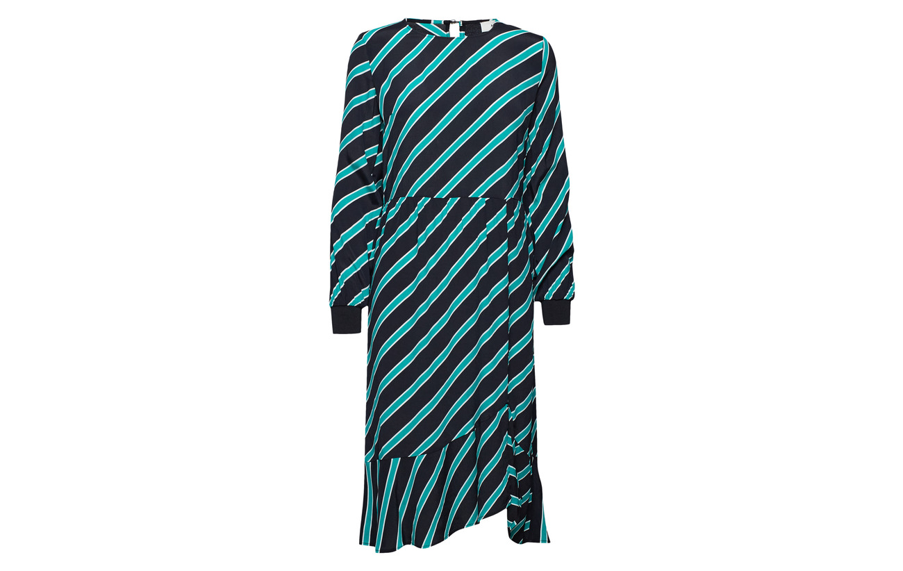 Modström Candy Équipement Monet Dress 100 Print Stripe Viscose BrWBqcUnz