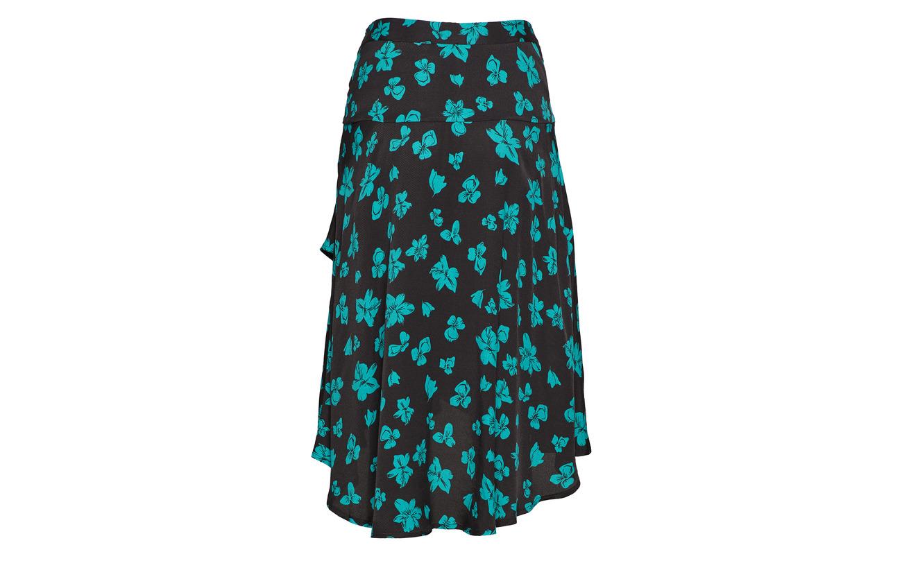 Print Modström Flower 100 Viscose Équipement Skirt Mandy Fairytale Sqxafw