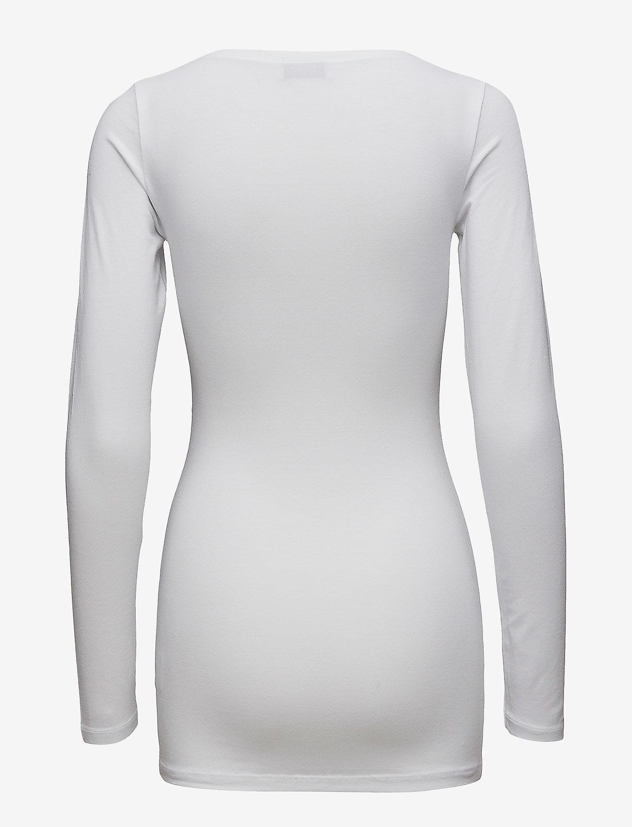 Modström - Turbo - long-sleeved tops - white - 1