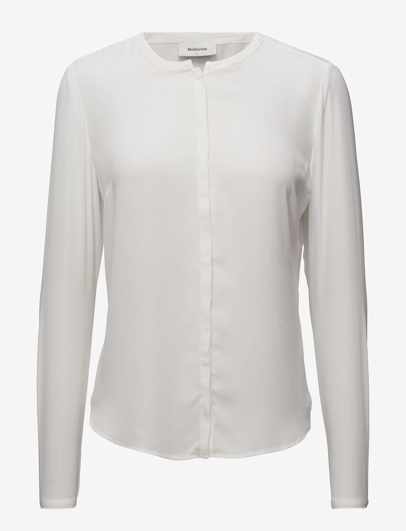 Modström - Cyler shirt - long sleeved blouses - porcelain - 0