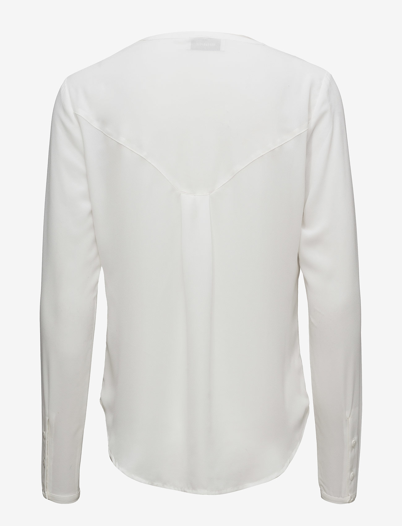 Modström - Cyler shirt - long sleeved blouses - porcelain - 1