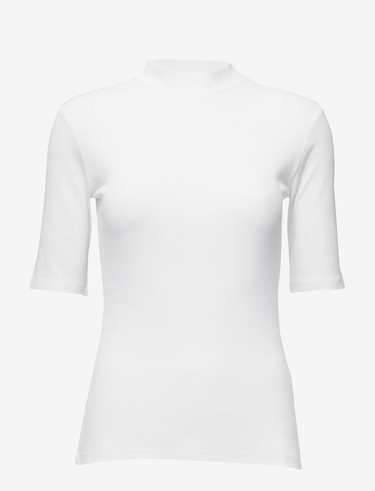 Modström - Krown t-shirt - t-krekli - porcelain - 0