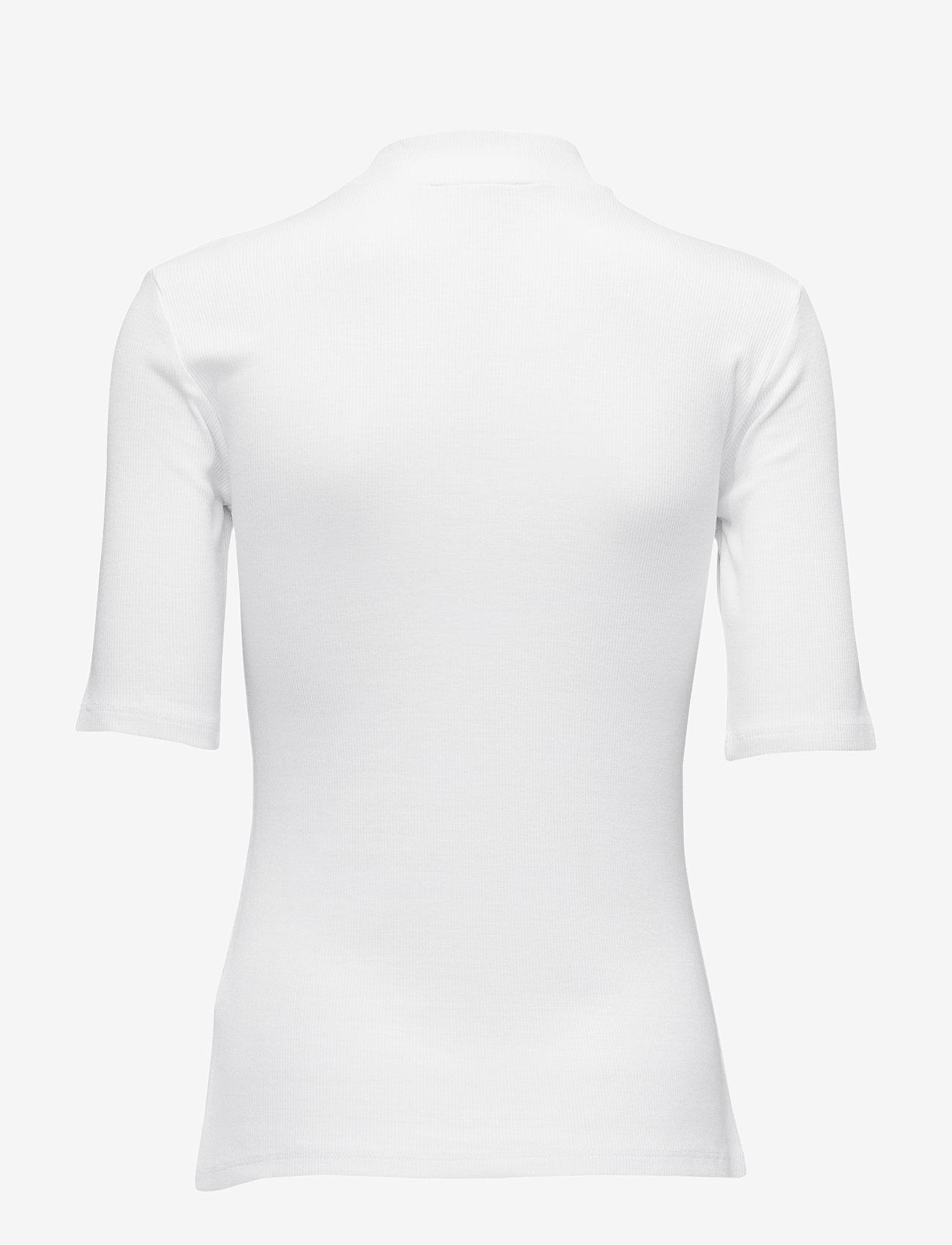 Modström - Krown t-shirt - t-krekli - porcelain - 1