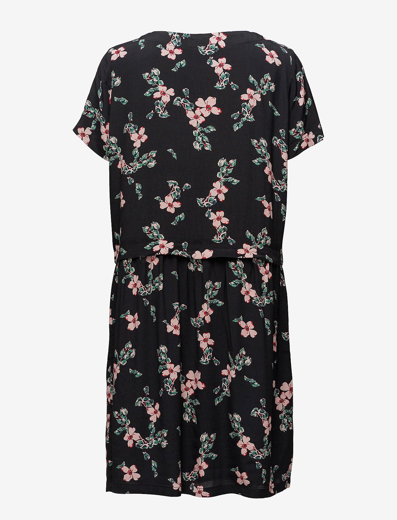 Tassel Print Dress (Black Bloom) - Modström eSQzMs
