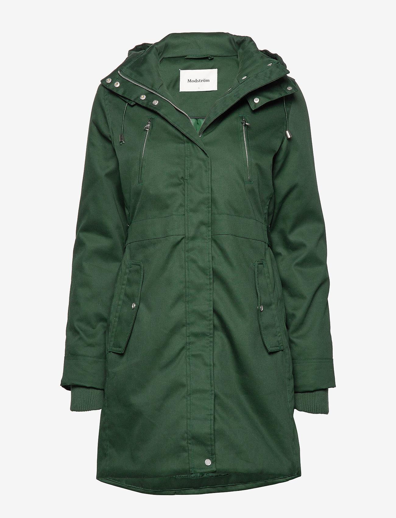 Modström - Heaven coat - parki - empire green - 0