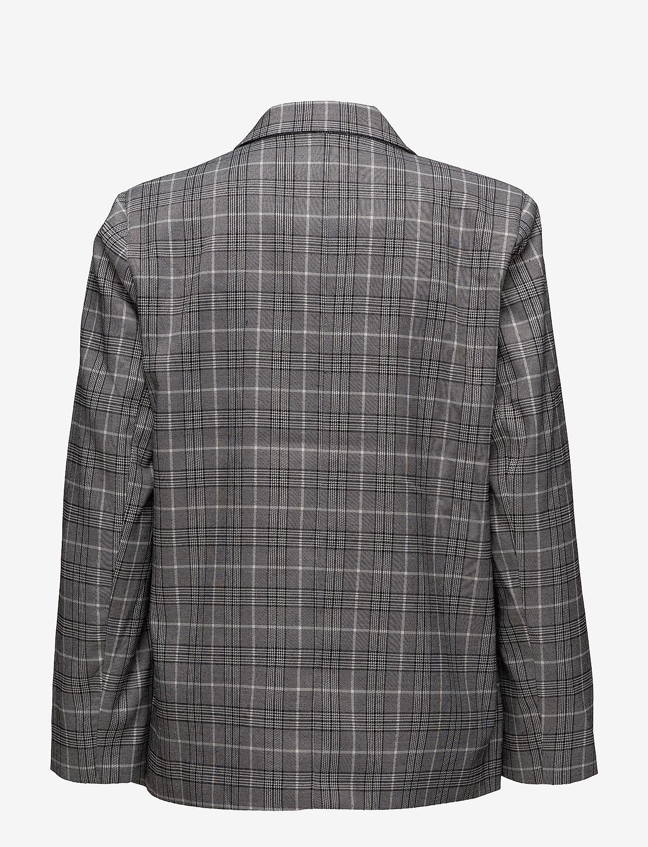 Modström - Thomas blazer - blazers - check - 1