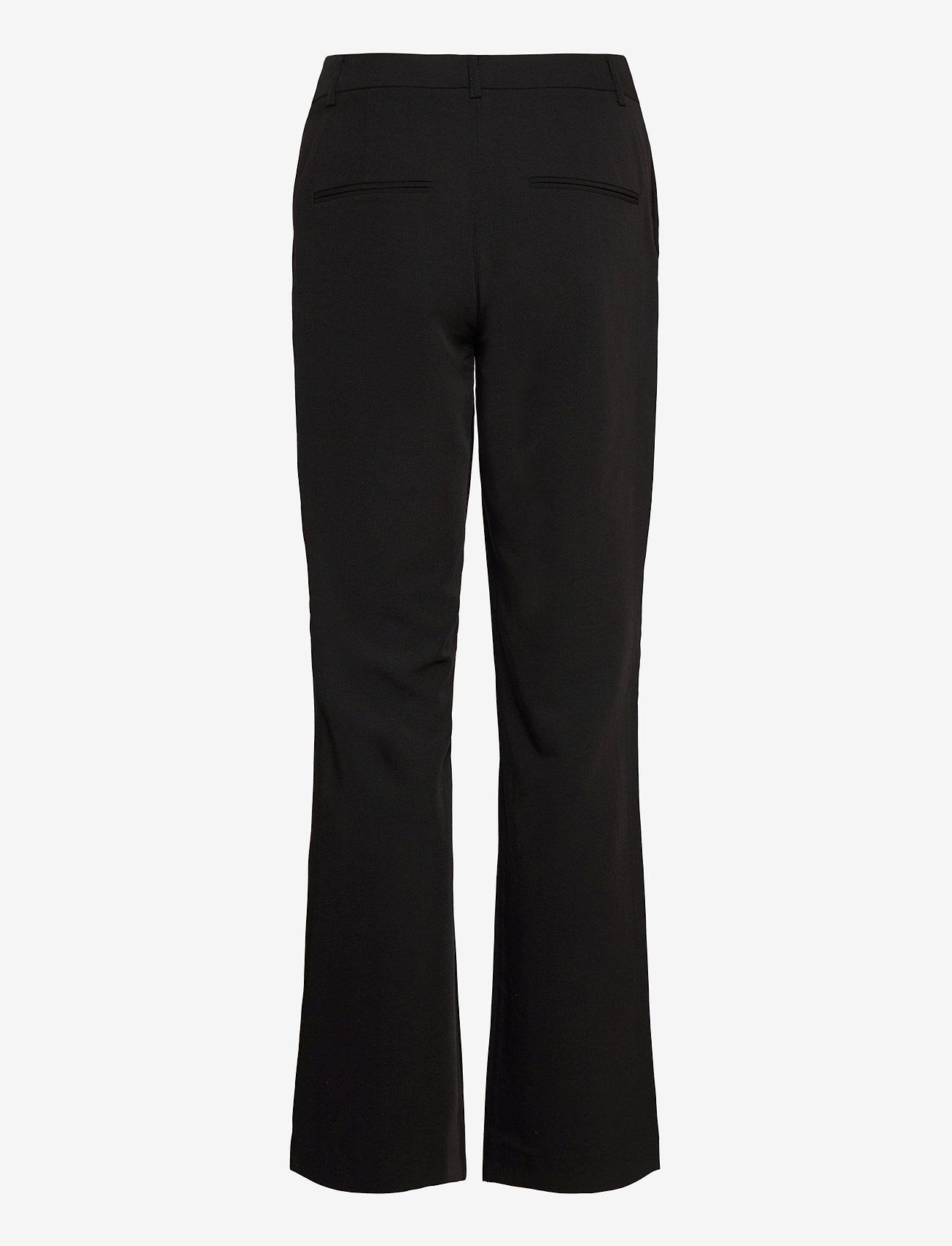 Modström - Kendrick wide pants - bukser med brede ben - black - 1
