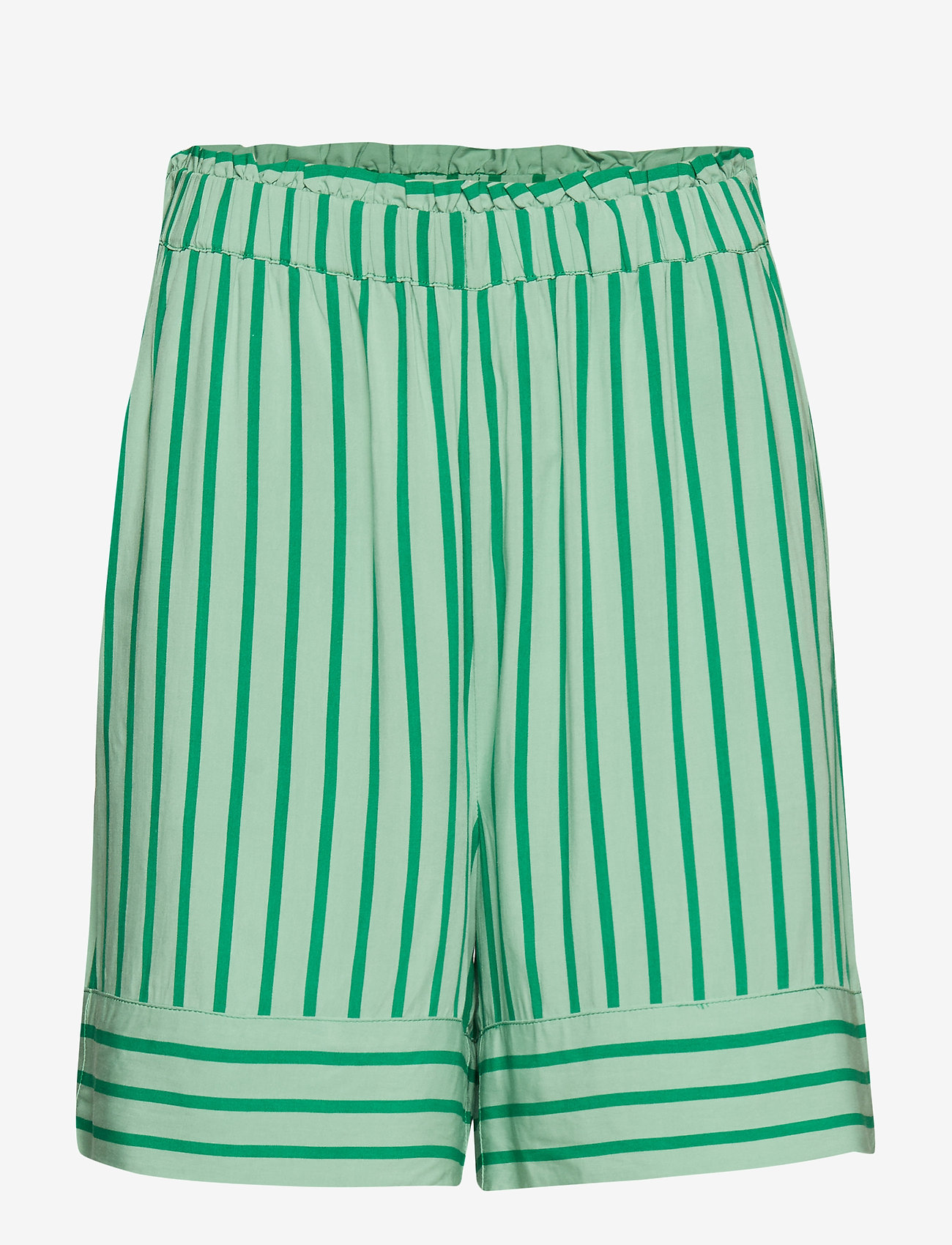 Modström - Otis print shorts - shorts casual - meadow stripe - 0
