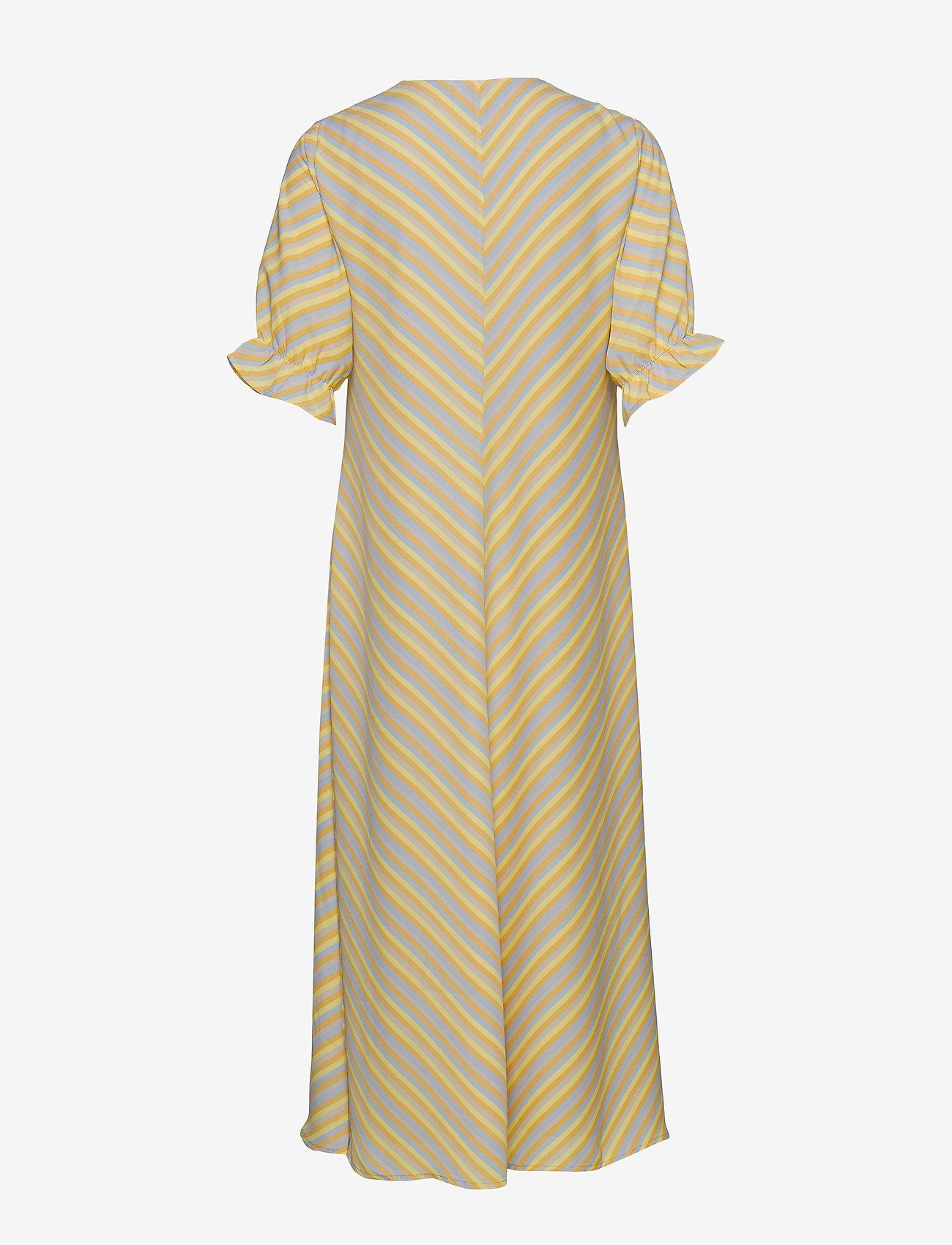 Modström - Clementine print dress - midi kjoler - faded stripe