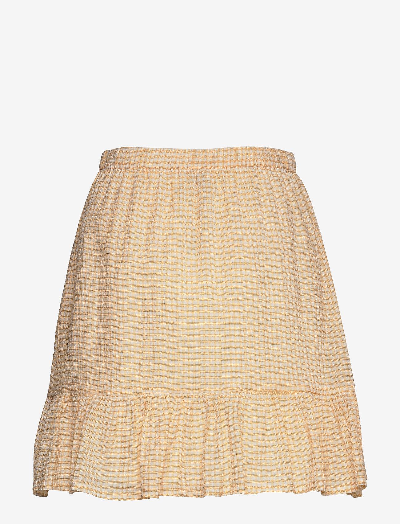 Modström Carolina skirt - Spódnice SUNSHINE CHECK - Kobiety Odzież.